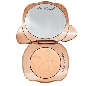Too Faced Puppy Glowver Champagne Highlighter NIB